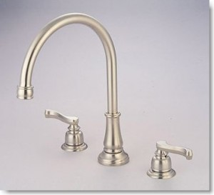 Kitchen Sink Faucet with Lever Handles