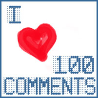 I Heart 100 Comments
