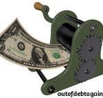 Cartoon of Making Money